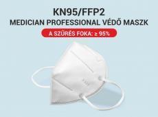 MEDICIAN FFP2 ( KN95) PROFESSIONAL VÉDŐ MASZK  5 db /csomag  1490Ft/db RAKTÁRRÓL