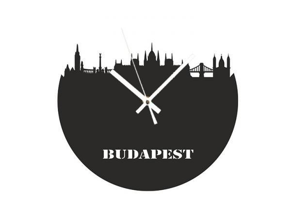 Akril - Budapest - falióra