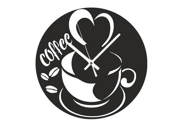 Akril - Coffee - falióra