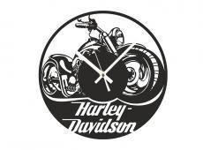 Akril - Harley - falióra