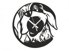 Akril - Kutya - falióra