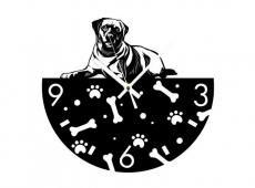 Akril - Kutya 2 - falióra