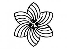 Akril - Mandala 4 - falióra