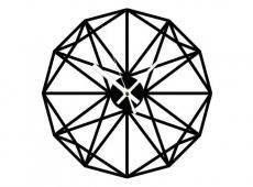 Akril - Modern 3 - falióra