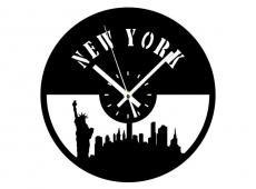 Akril - New York - falióra
