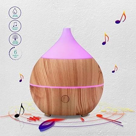Aroma párologtató bluetooth hangszóróval - 5003