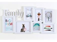 BH1707 Family Fali képkeret