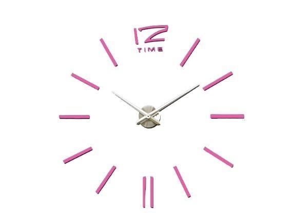 BIG 4203P óriás falióra 100 cm - pink