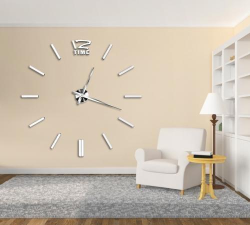 BIG 4203W óriás falióra 100 cm - fehér