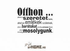 ByHome Felirat 15 faltetoválás_KK_Fekete