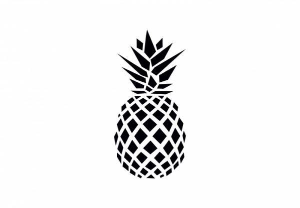 ByHome Felirat J84 Pineapple