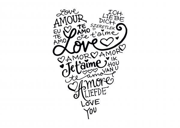 ByHome J13_Love faltetoválás