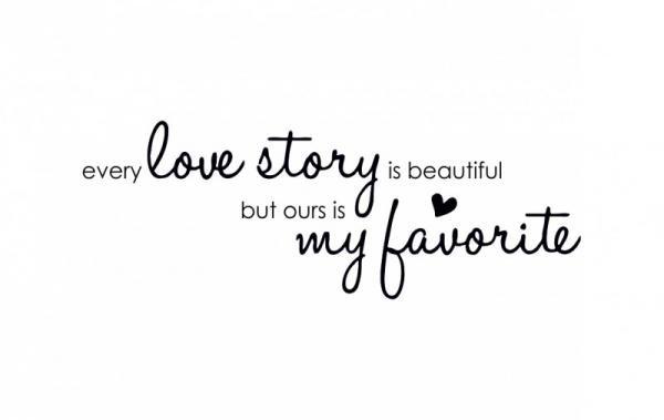 ByHome J25 Love Story faltetoválás FEKETE KK  9a918085f2
