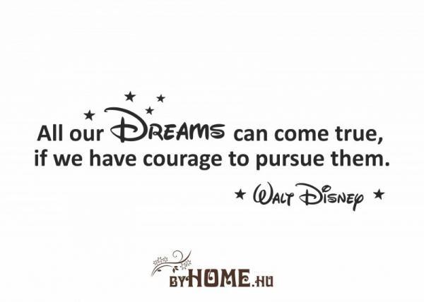 ByHome Walt Disney faltetoválás