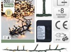 ByHome Xmas Light 800 LEDes égősor MELEG  FEHÉR