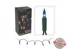 ByHome Xmas Light Hagyományos 100 izzós égősor - SZÍNES