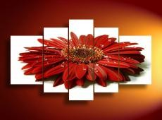 Digital Art | 391 Red Gerbera