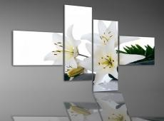 Digital Art Quatro vászonkép | 1980Q White flower