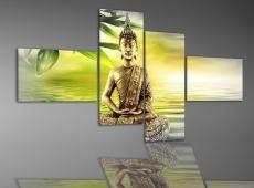 Digital Art Quatro vászonkép | 1993Q - Buddha Art