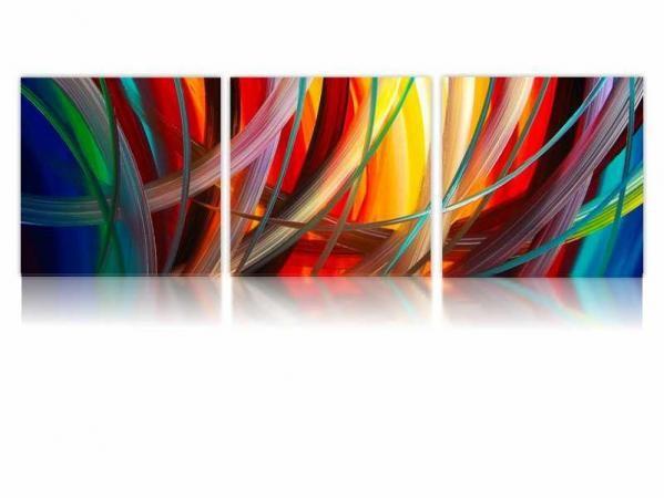 Digital Art Three vászonkép V659 Abstact