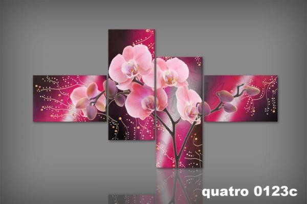 Digital Art vászonkép | 0123Q  C  Orchidea Aranico S _KK