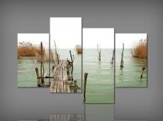 Digital Art vászonkép | 0320Q Balaton S