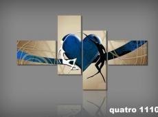 Digital Art vászonkép | 1110 Q amico del cuore S