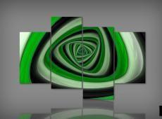 Digital Art vászonkép | 1122 Q Spirale quadri S