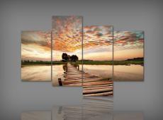 Digital Art vászonkép | 1200 Q Luteo Lagoi Quatri S