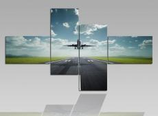 Digital Art vászonkép | 1204Q Flying S