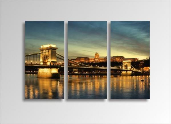 Digital Art vászonkép | 1206-S Budapest THREE