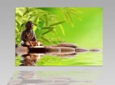 Digital Art vászonkép | 1207-S Buddha Tranquility ONE