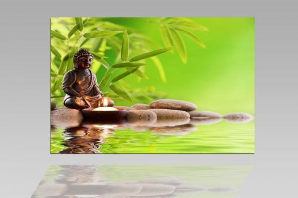 Digital Art vászonkép | 1207-S Buddha Tranquility ONE
