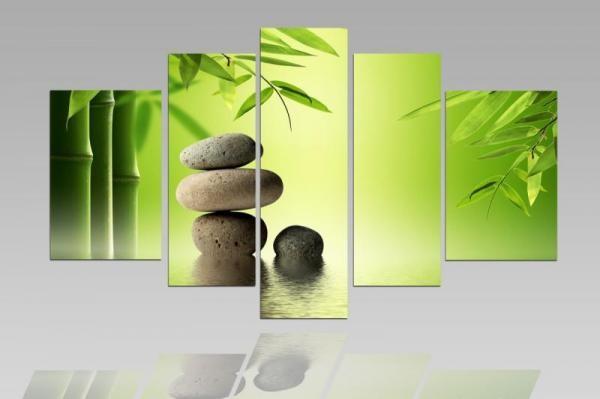 Digital Art vászonkép   1215-S Bambus Garden