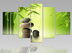 Digital Art vászonkép | 1215-S Bambus Garden