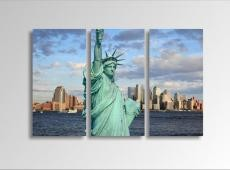 Digital Art vászonkép | 1225-S Statue of Liberty THREE