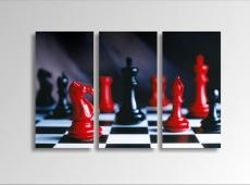 Digital Art vászonkép | 1226-S Chess THREE