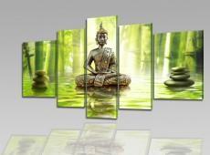 Digital Art vászonkép | 1232-S Verdeccio Buddha