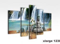 Digital Art vászonkép | 1238-S falls e buddha