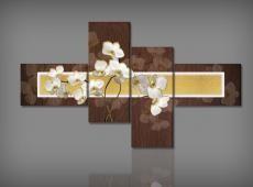 Digital Art vászonkép | 1239Q Orchidea Bruna S