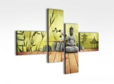 Digital Art vászonkép | 1241Q dipinti e Buddha S