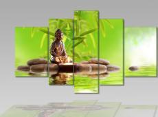 Digital Art vászonkép | 1243-S_KK Buddha Novello