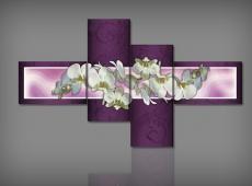Digital Art vászonkép | 1245Q Nova Viola Orchidea S