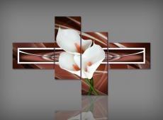 Digital Art vászonkép | 1257Q Castano Calla S