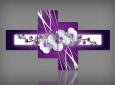 Digital Art vászonkép | 1263 Q Brillante Orchidea S