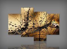 Digital Art vászonkép | 1300 Goccia d'acqua Quatri S
