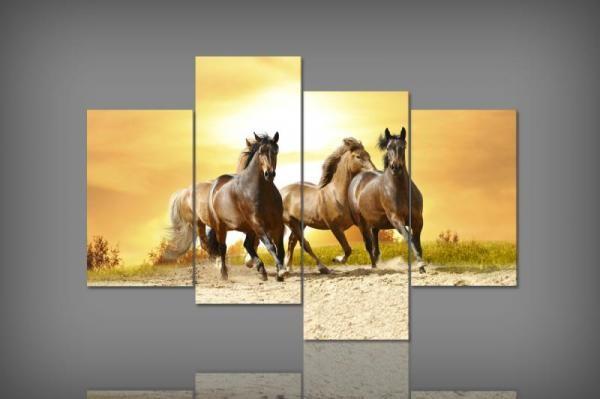 Digital Art vászonkép   1441 Q Cavalli quatri S