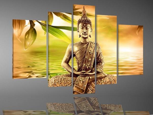 Digital Art vászonkép | 1992 Buddhas Art