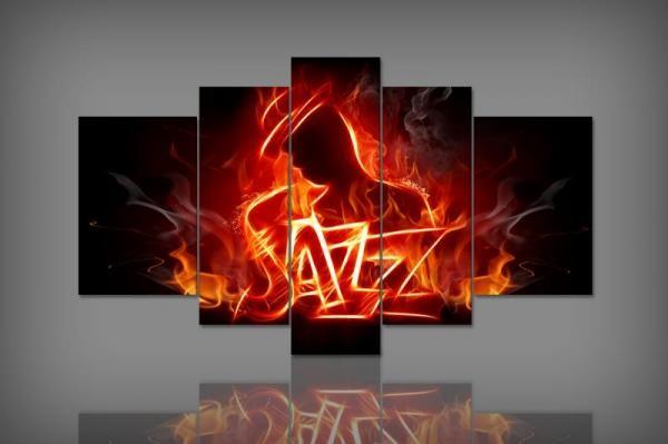 Digital Art vászonkép | 2019-S Jazz