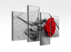 Digital Art vászonkép | 2022Q grigio rosa quatri S